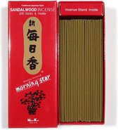 Nippon Kodo Morning Star - Sandalwood - Sandelhout  - Japanse wierook - XL-pack - Gratis Verzending!!!