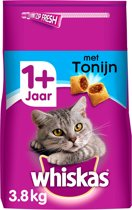 Whiskas Brokjes Adult - Tonijn - Kattenvoer - 3.8 kg