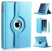 iPad air 2 360 graden flip cover - blauw