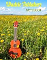 Ukulele Tablature Notebook