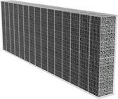 Steenkorf muur met hoes 600 x 50 x 200 cm