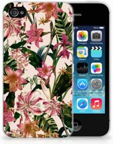 iPhone 4 | 4s  TPU-siliconen Hoesje Flowers