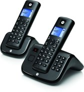 Motorola T212 - DECT telefoon - 2 Handsets - met antwoordapparaat