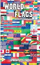 World Flags Weekly Planner 2016