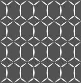 Eclipse Fusion zwart/wit behang (vliesbehang, zwart)