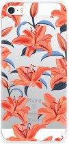 iPhone 5/5S/SE Hoesje Flowers
