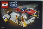 Lego Studios car stunt studio 1353