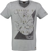 Pme legend grijs t-shirt slim fit - Maat S