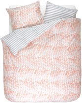 ESPRIT Krisa - Dekbedovertrek - Lits Jumeaux - 240 x 220 - Coral pink