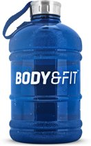 Body & Fit Accessoires Water Bottle - Waterfles - BPA vrij - Blauw - 1900 ml