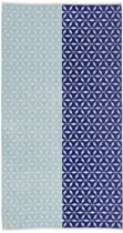 KA Lemonade Beach Towel Blue 100x180
