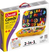 Quercetti magneetbord incl. hoofdletters ABC + cijfer magneten, 120dlg.