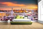 Fotobehang vinyl - Koninklijk Paleis Bangkok breedte 380 cm x hoogte 265 cm - Foto print op behang (in 7 formaten beschikbaar)