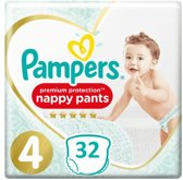 Pampers Premium Protection Pants - Maat 4 - 32 Stuks - Luierbroekjes