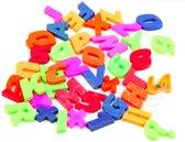 ProductGoods - 42x Letter en cijfer magneten multicolour
