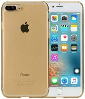 Rock Ultrathin TPU Slim Jacket Apple iPhone 7 Plus/8 Plus Transparent Gold
