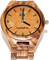 Houten horloge I TwentyFive. I Vidhr.