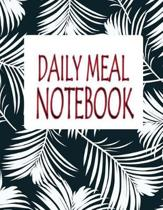 Daily Meal Notebook