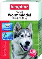 Beaphar Totaal Wormmiddel - Grote Honden - 4 Tabletten