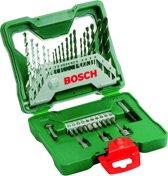 Bosch X-Line borenset - 33-delig - Voor hout, metaal en steen