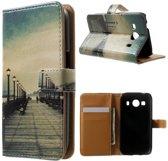 Bridge wallet hoesje Samsung Galaxy Ace 4 G357FZ