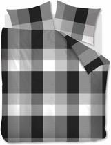 Beddinghouse Bruce - Dekbedovertrek - Tweepersoons - 200x200/220 cm + 2 kussenslopen 60x70 cm - Black