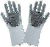 Schoonmaak handschoenen - Afwas handschoenen - Schoonmaakhandschoenen - Ramen wassen handschoenen - Spons - Afwassen - Silicone afwashandschoenen