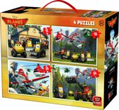 Disney Puzzel 4-in-1 Planes 2