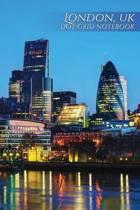 London, UK Dot-Grid Notebook