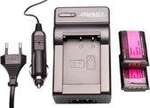 Highbatt 2 x NP-BX1 accu's voor Sony + oplader en autolader