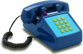 Opis Push-Me-Fon - Retro telefoon - Donker Blauw
