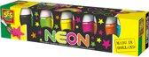 SES Plakkaatverf - 6x50 ml - Neon