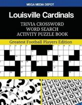 Louisville Cardinals Trivia Crossword Word Search Activity Puzzle Book