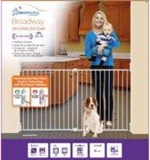 Dream Baby Xtra breed schroefhekje 76-134cm WIT (track sluiting)