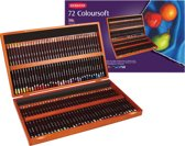 Derwent Coloursoft woodbox 72st