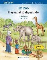 Im Zoo. Kinderbuch Deutsch-Türkisch