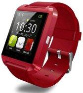 Smartwatch Uwatch U8 - Siliconen band - Rood