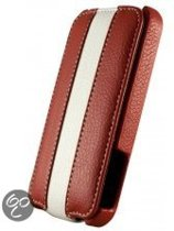 Dolce Vita Flip Case Samsung i9100 Galaxy S II Red/White