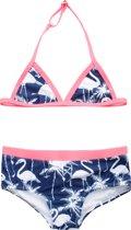 Claesen's Meisjes Bikini - Flamingo - Maat 128-134