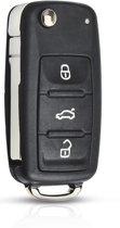 Autosleutelbehuizing Volkswagen Up - 3 knops - met sleutelbaard