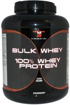 M Double You - 100% Whey Protein (Banaan) - 900 gram