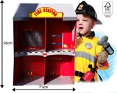 Kartonnen Brandweer Speelhuis Fire Station