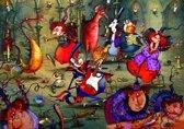 Legpuzzel - 1500 stukjes -Heksenbal - F. Ruyer - Grafika puzzel