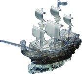 Crystal Puzzel Piratenschip - Zwart