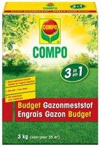Gazon budget meststof 3 in 1 - set van 2 stuks
