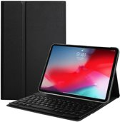 Lunso - afneembare Keyboard hoes - iPad Pro 11 inch - zwart