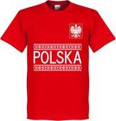 Polen Team T-Shirt - Rood - XL