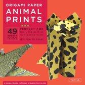 Origami Paper Animal Prints