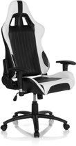 hjh office Monoca II - Bureaustoel - Gaming - Racing - PU leder - Zwart