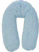 Form-Fix Voedingskussenhoes - Hoes voor Form Fix XL - 100% katoen en comfortabel badstof - Soft blue